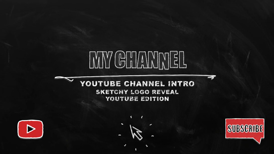 Youtube Video Intro template